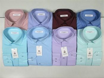 Рубашки в ассортименте цветные - фото 4704