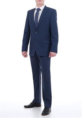 Мужской костюм в клетку КД-853 - фото 5317