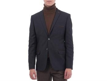 Приталенный повседневный мужской пиджак Диас - фото 5356