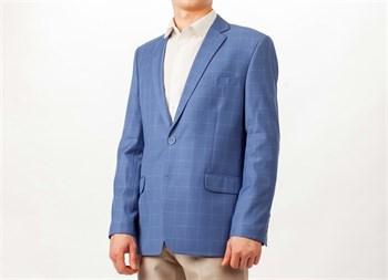 Классический пиджак в клетку Раньери - фото 5475