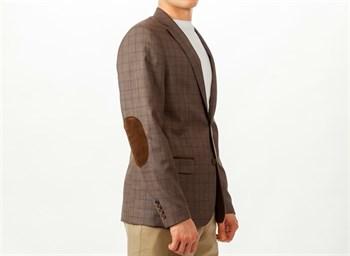 Пиджак мужской в клетку Мартенс, цвет: светло-коричневый - фото 5484