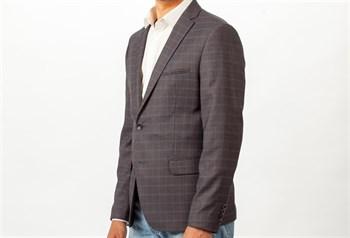 Мужской клетчатый пиджак под джинсы Ротекс - фото 5501