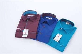 Модели мужских рубашек в ассортименте - фото 5533