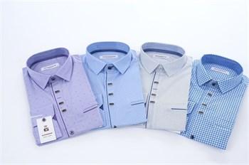 Рубашки цветные в ассортименте - фото 5534