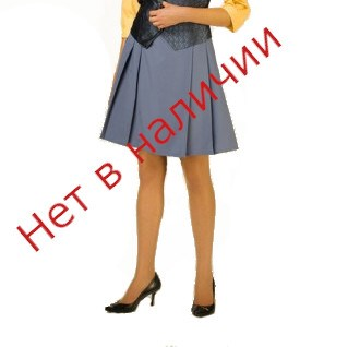 Юбка Волан (отрезной низ – «волна») мод.06 - фото 6043