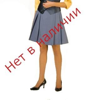 Юбка с отрезным низом со складками на кокетке мод.09 - фото 6045