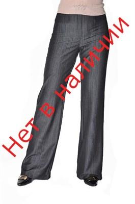 Брюки женские на узком поясе (широкие и прямые от бедер), мод.30 - фото 6055
