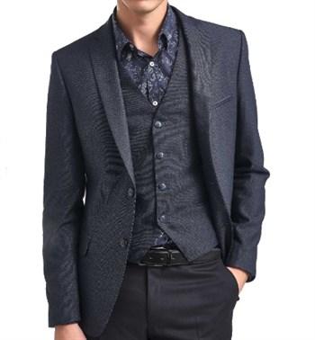 Классический повседневный пиджак мужской Лефевр - фото 6072
