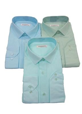 Сорочки светлые приталенные - фото 6240