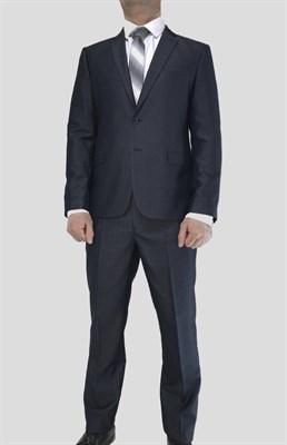 Мужской классический костюм двойка Оникс - фото 6307