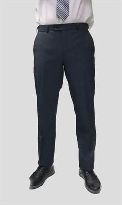 Мужские классические брюки Оникс в мелкую клетку - фото 6320