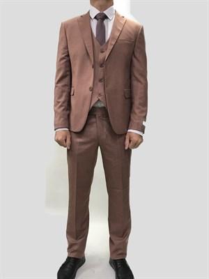 Мужской классический костюм тройка 7600 - фото 6377