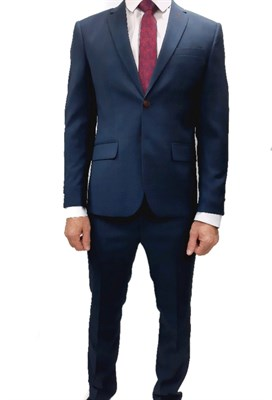 Мужской классический костюм КМД-673 - фото 6383