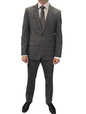 Мужской классический костюм в клетку КД-986 - фото 6539
