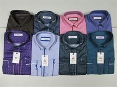 Модели мужских рубашек в ассортименте цветные