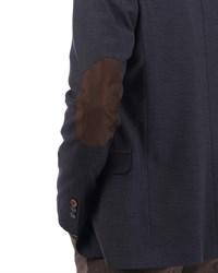 Приталенный повседневный мужской пиджак Диас - фото 5359