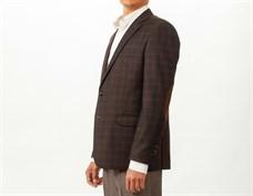 Повседневный коричневый мужской пиджак Тоскана