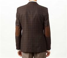 Повседневный коричневый мужской пиджак Тоскана - фото 5483