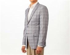 Пиджак мужской классический Позитив, цвет: светло-серый