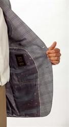Пиджак мужской классический Позитив, цвет: светло-серый - фото 5508