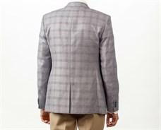 Пиджак мужской классический Позитив, цвет: светло-серый - фото 5509