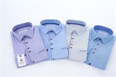 Рубашки цветные в ассортименте