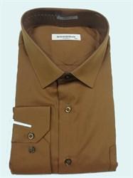 Сорочка мужская коричневая