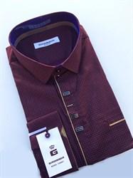 Сорочка мужская размер S стретч - фото 5728