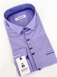 Сорочка мужская размер S стретч - фото 5732