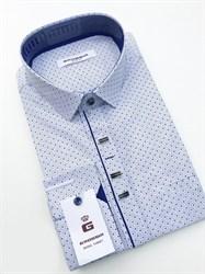 Сорочка мужская размер S стретч - фото 5734