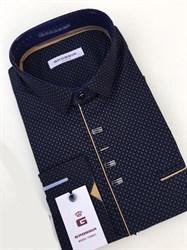 Сорочка мужская размер S стретч - фото 5738
