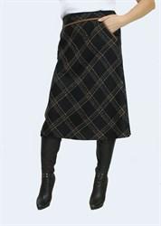 Юбка а-силуэта арт. 407
