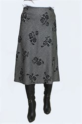 Юбка а-силуэта арт.405
