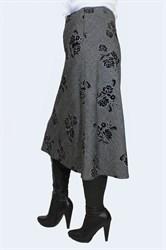 Юбка а-силуэта арт.405 - фото 6147