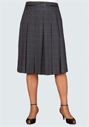Клетчатая юбка в складку арт. 082