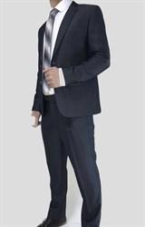 Мужской классический костюм двойка Оникс - фото 6308