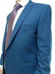 Мужской классический костюм в клетку арт. 7303/1 - фото 6334
