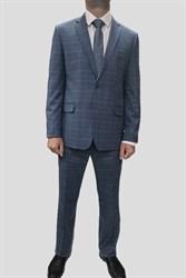 Мужской классический костюм в клетку - фото 6349