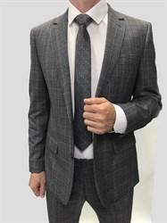 Мужской классический костюм в клетку КД-986 - фото 6359