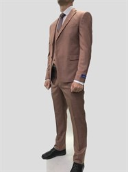 Мужской классический костюм тройка 7600 - фото 6378