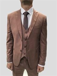 Мужской классический костюм тройка 7600 - фото 6379