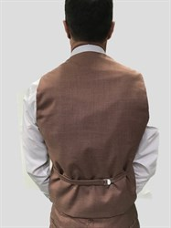 Мужской классический костюм тройка 7600 - фото 6380