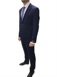 Мужской классический костюм-двойка в полоску 9028-282
